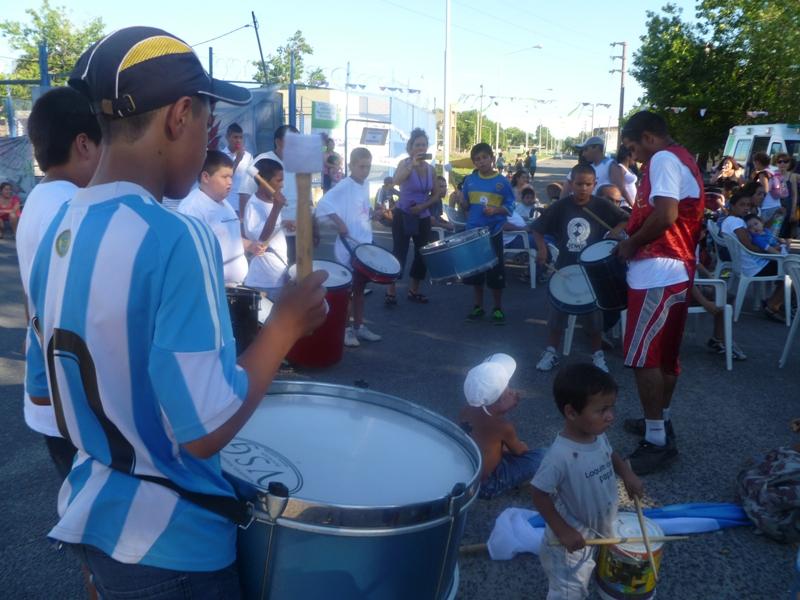 Festival por la vuelta del colectivo al barrio