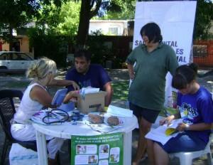 Jornada de Salud en el Barrio Mitre