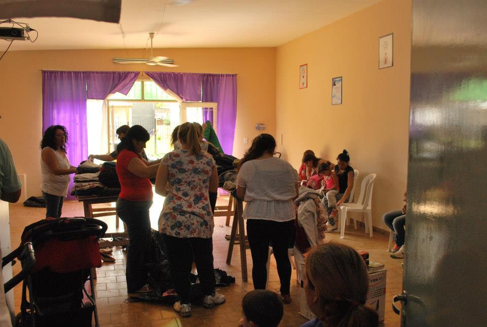 Solidaridad y alegría en La Pampa