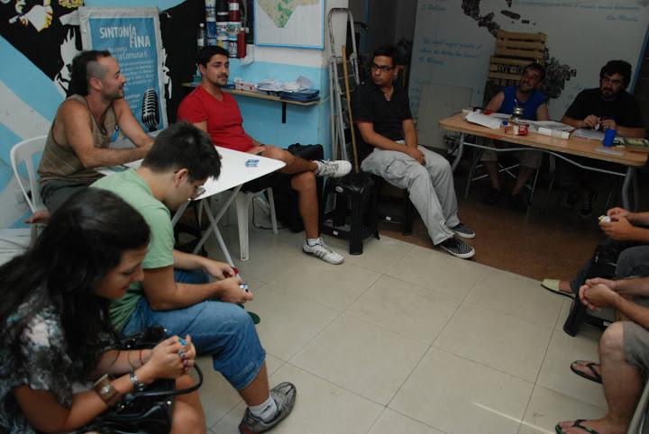 Ciclo de formación 2013 en Caballito