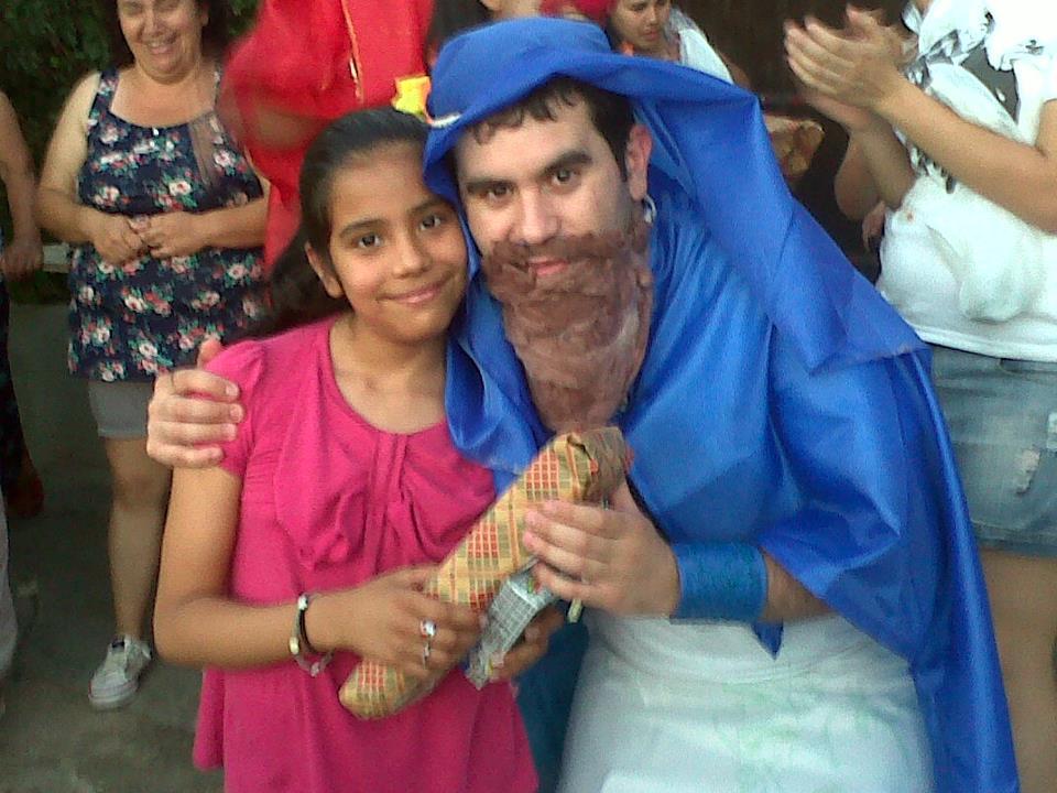 San Luis con los Reyes Magos