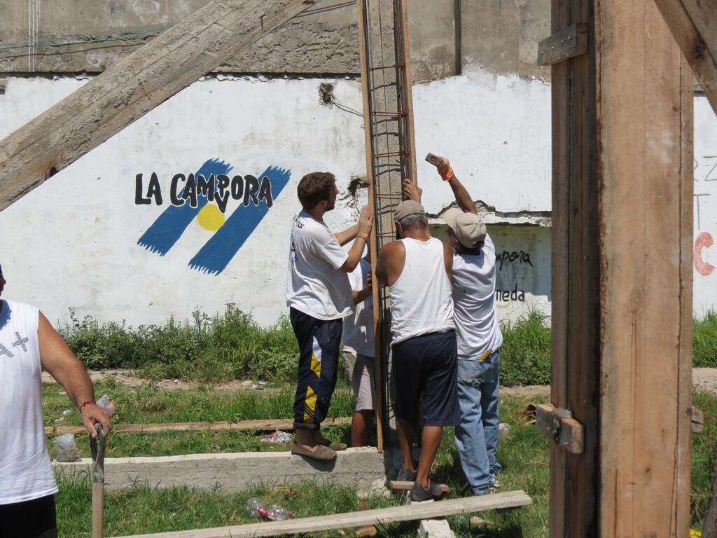 Jornada de construcción en Avellaneda