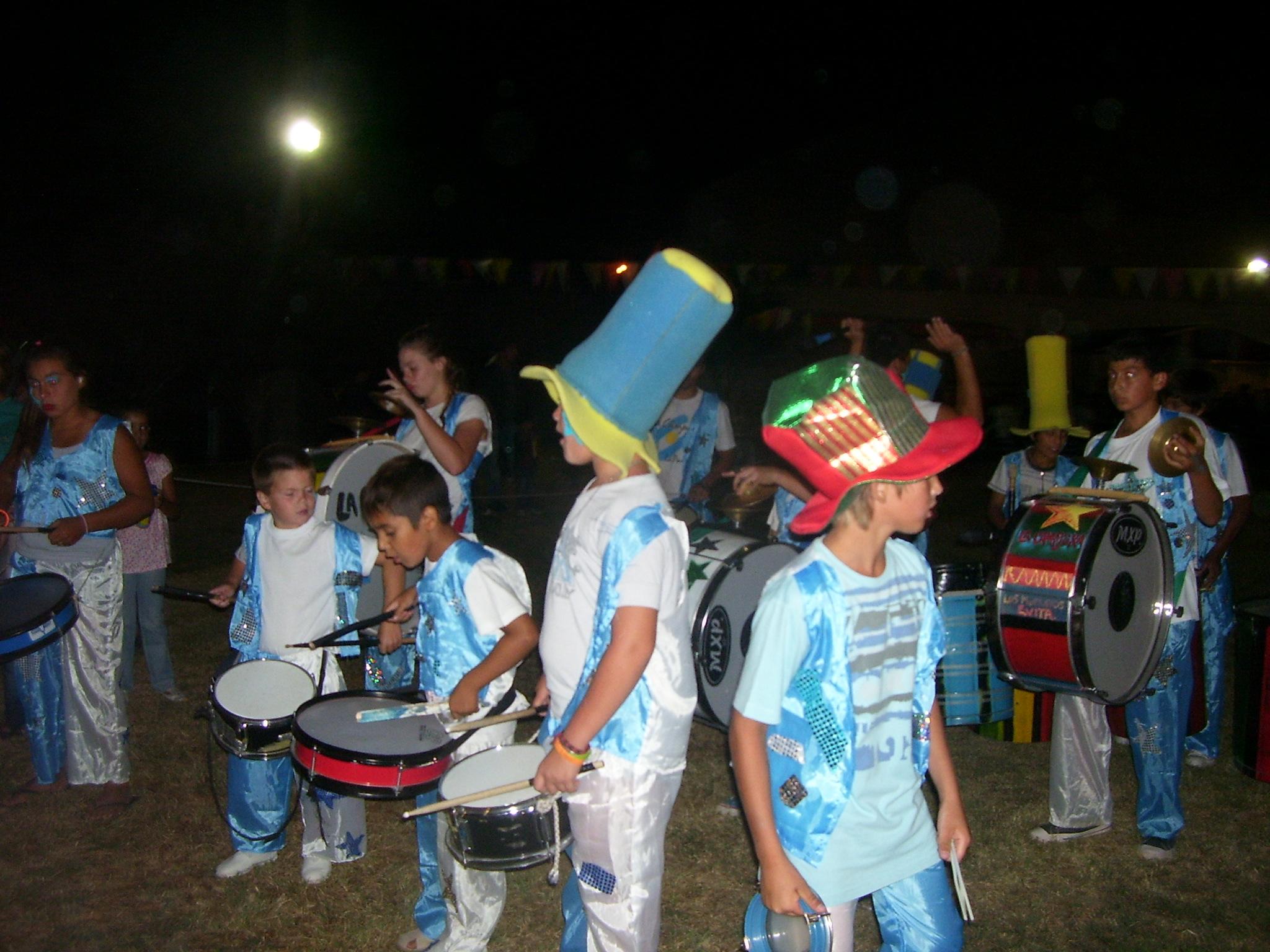 La Cámpora de murga por La Pampa