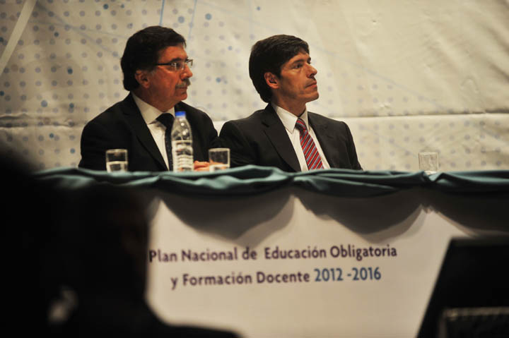 Presentación del Plan Nacional de Educación Obligatoria y Formación Docente 2012–2016