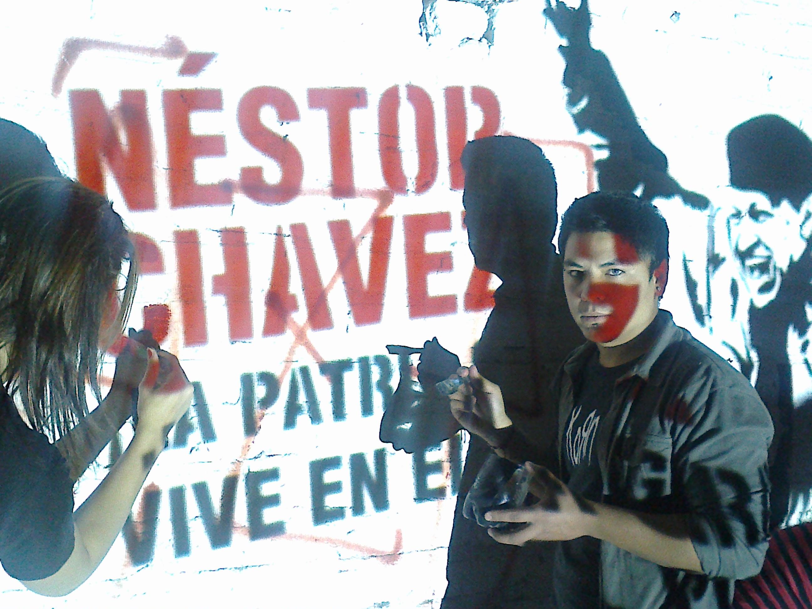Continúa el homenaje a Néstor y Chávez en todo el país
