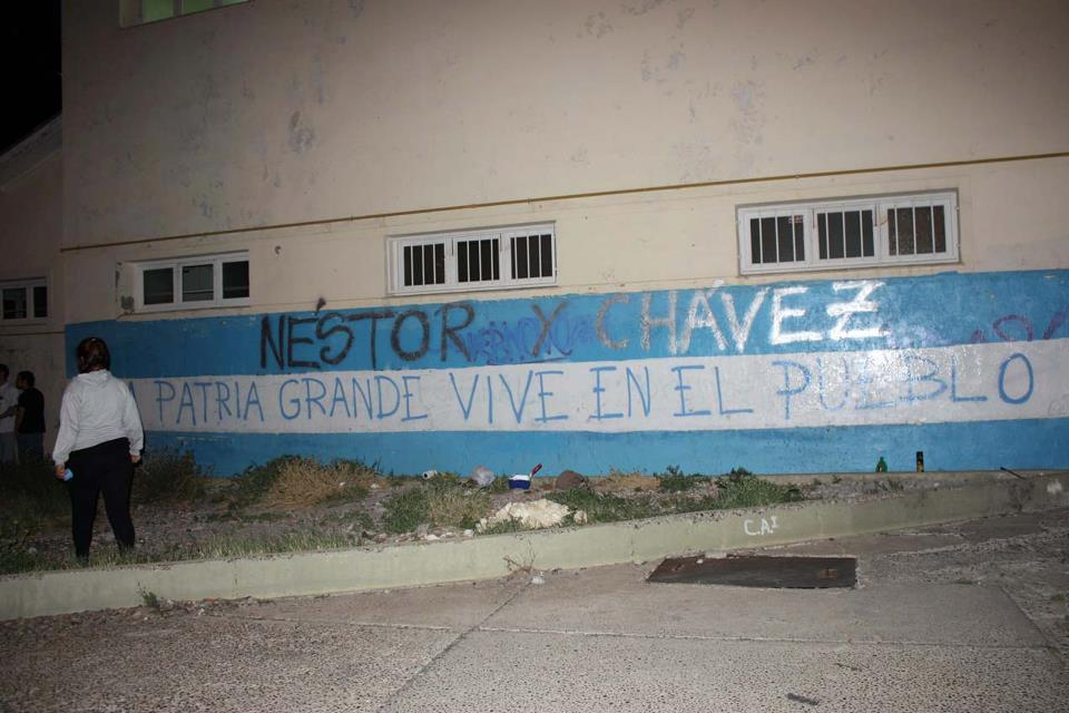 Recordando al comandante en Comodoro Rivadavia, Chubut