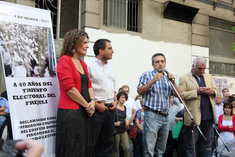A 40 años del triunfo de Cámpora: Homenaje en la Ciudad