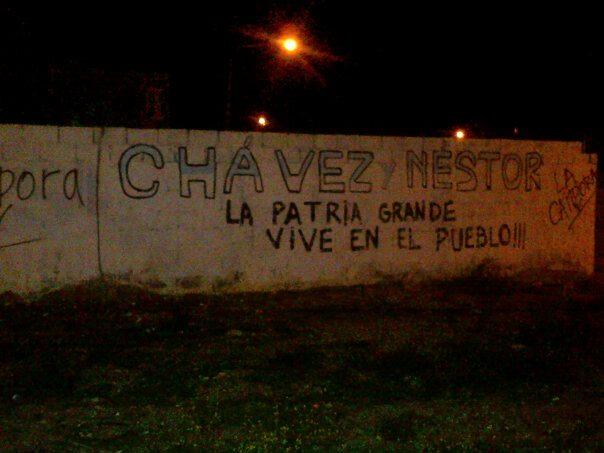 Recordando al comandante en Puerto Madryn, Chubut