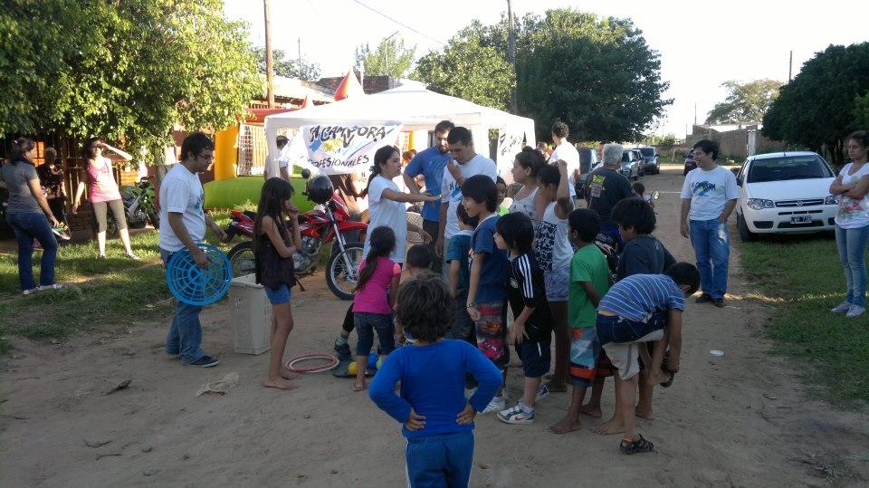 Corrientes: Presencia militante en el Barrio San Marcelo