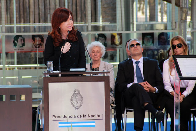 Cristina en Morón por la Memoria, la Verdad y la Justicia