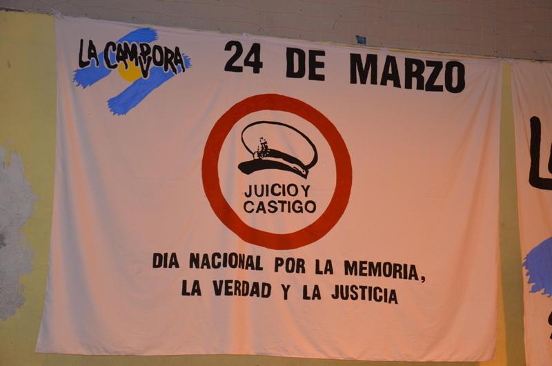 Jornadas por la Memoria, la  Verdad y la Justicia, en Santa Cruz