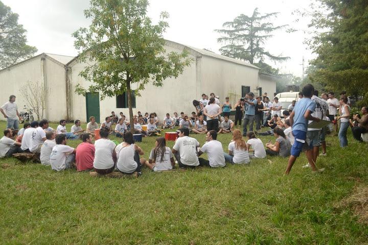 Solidaridad en la Escuela N°19 de Exaltación de La Cruz
