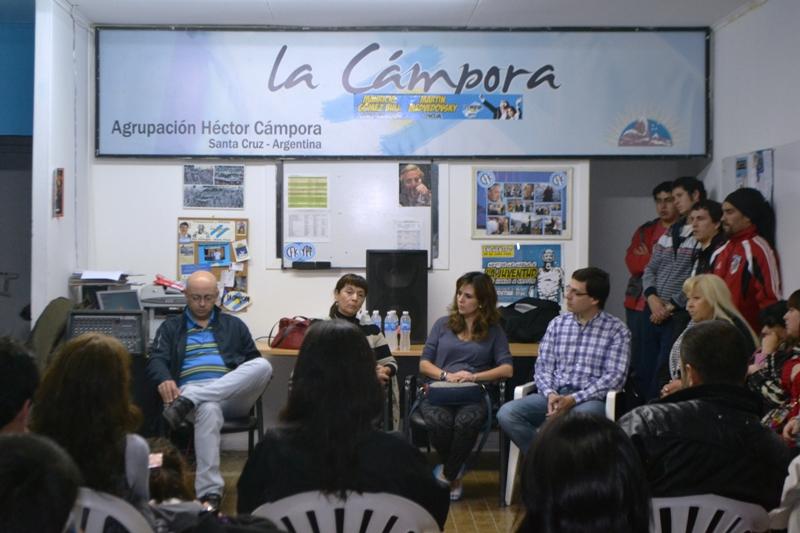 Susana Trimarco en Río Gallegos