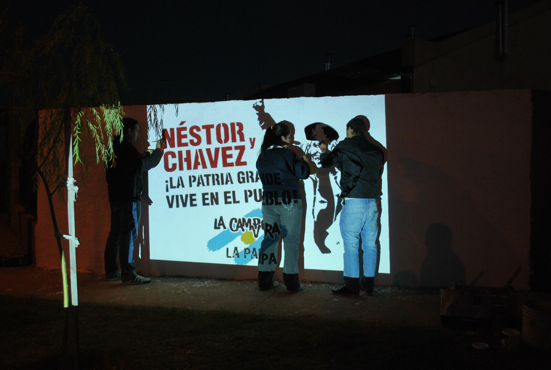 Recordando al comandante en Santa Rosa, La Pampa