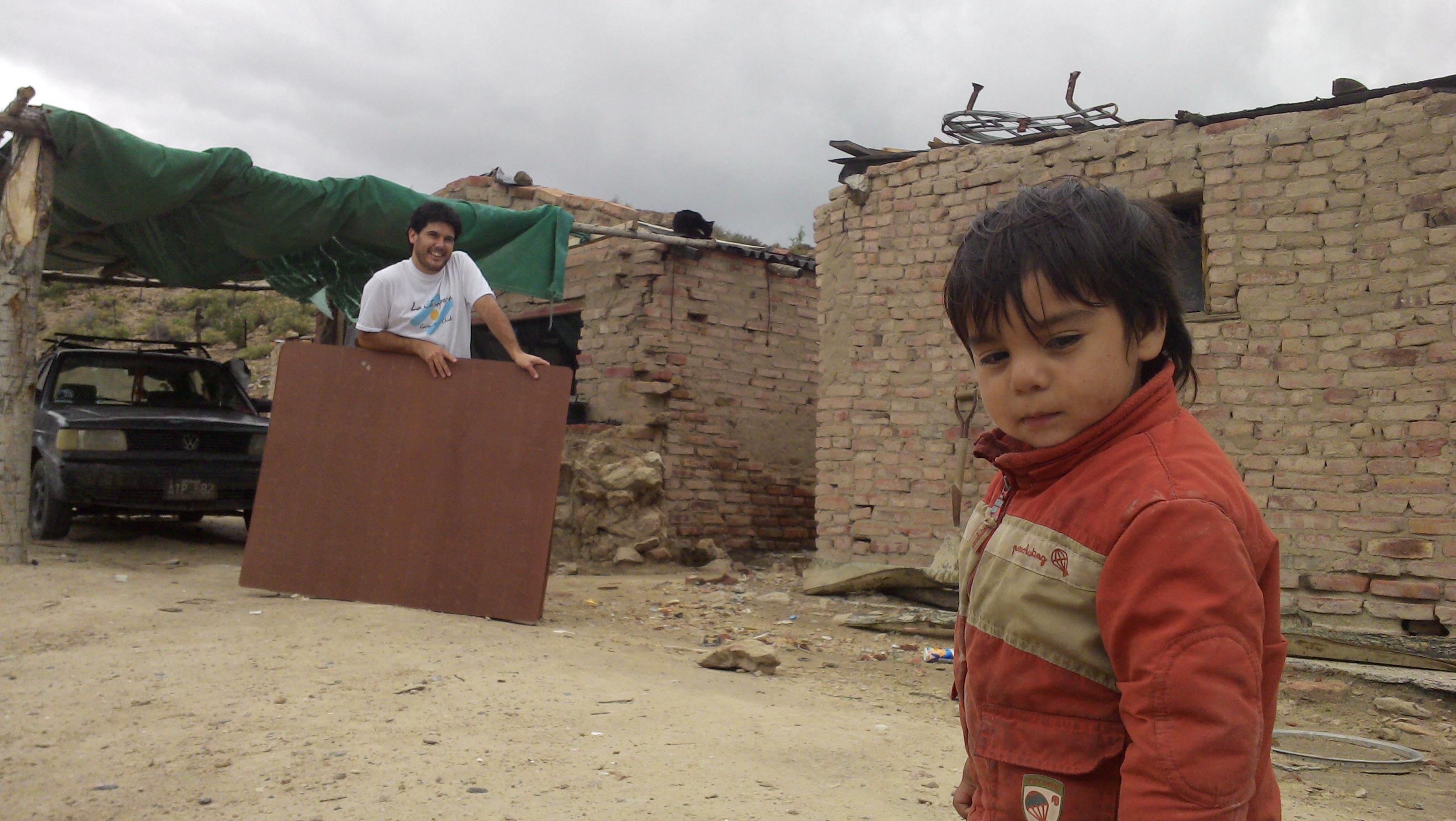 Gaiman, una localidad afectada por tormentas y una nueva jornada solidaria para Chubut