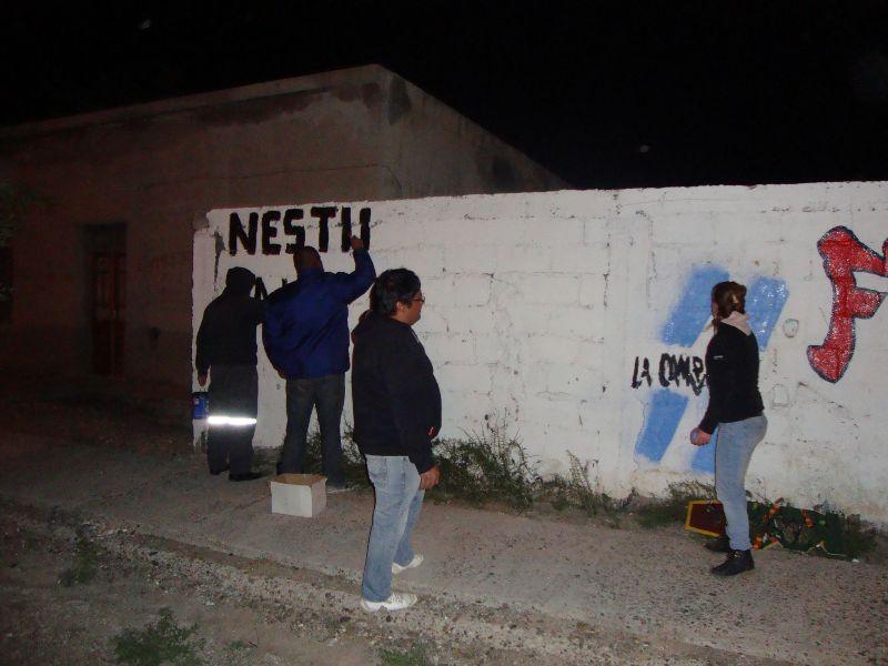 Recordando al comandante en Las Heras, Santa Cruz