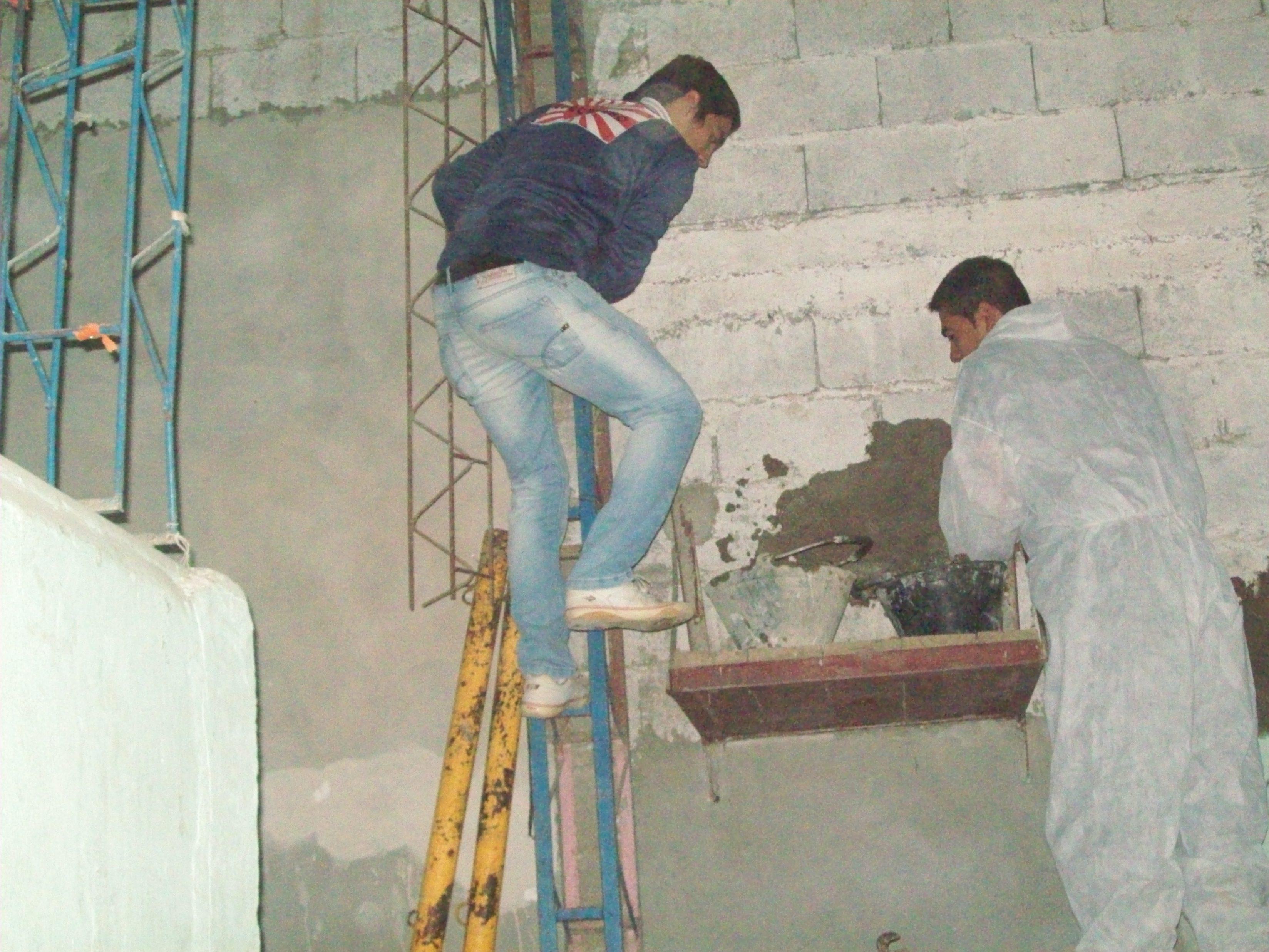Chubut: Obras de refacción en el Gimnasio del Barrio