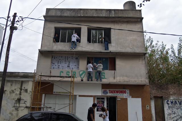 Acondicionamiento del Club Centro en Lanús
