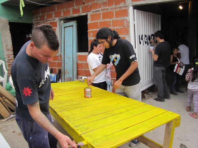Acondicionamiento del comedor Los Pitufos en San Martín