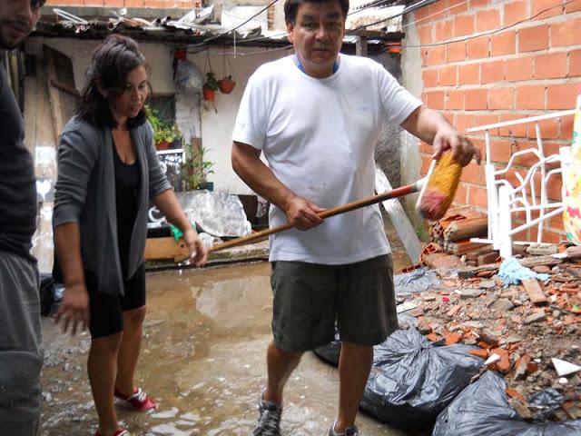 La Cámpora junto a los vecinos afectados