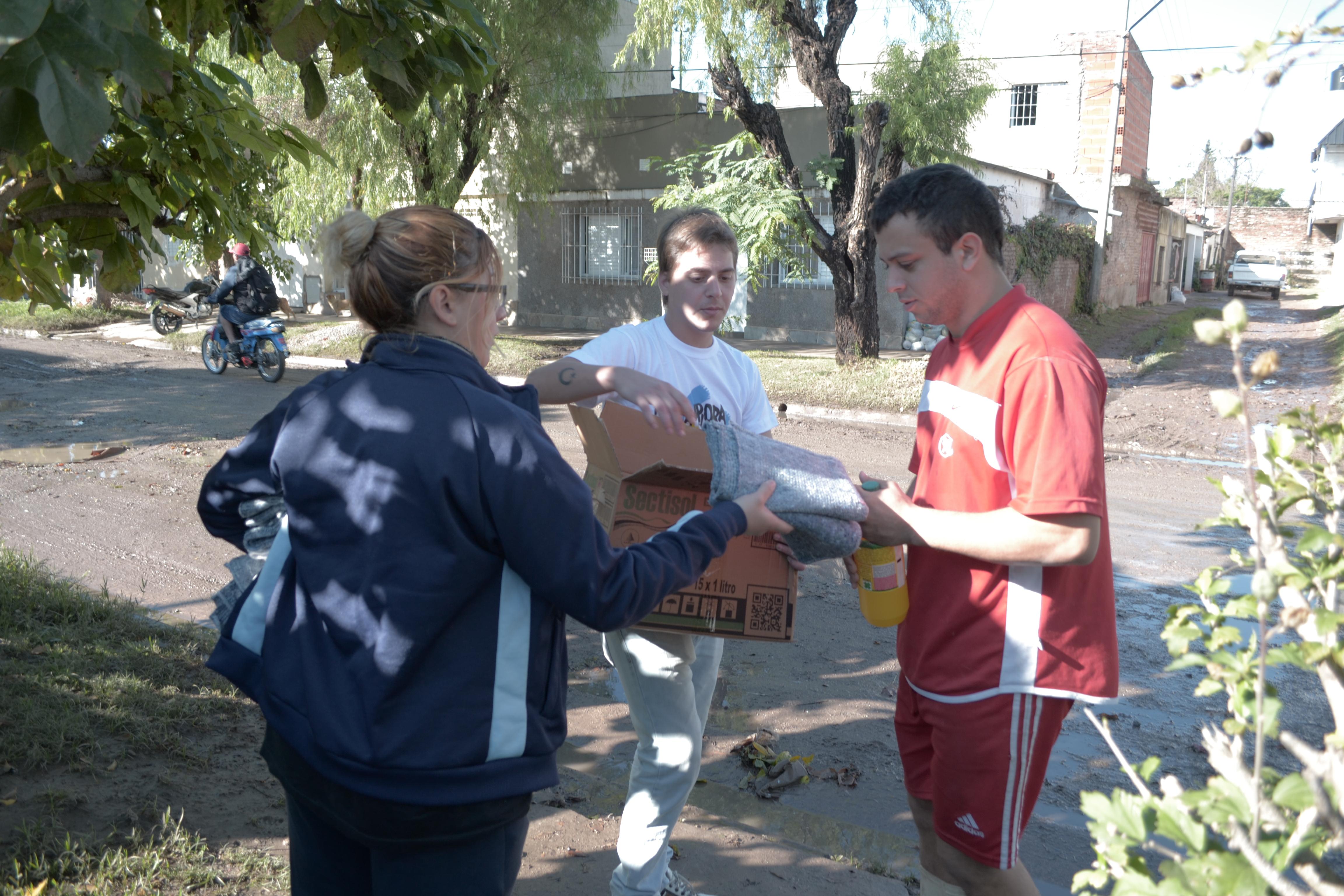La Cámpora Solidaria en Santa Fe