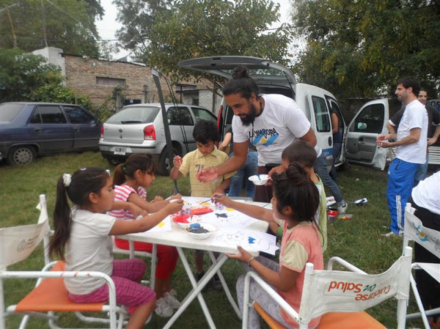 Jornada cultural en el barrio El Triángulo de González Catán, La Matanza