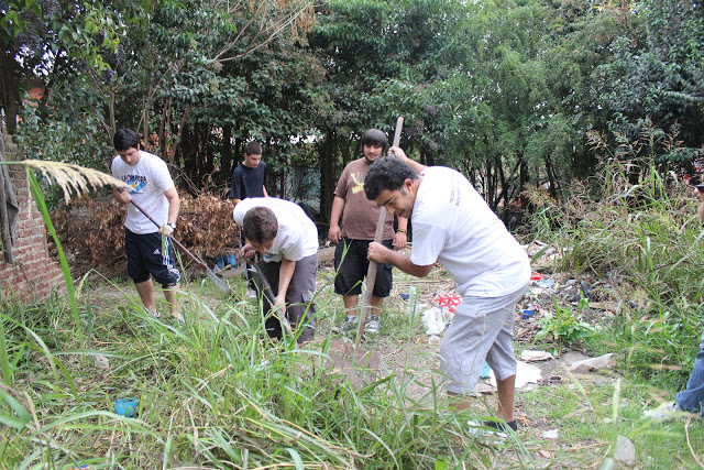 Jornada de limpieza en Aldo Bonzi, La Matanza