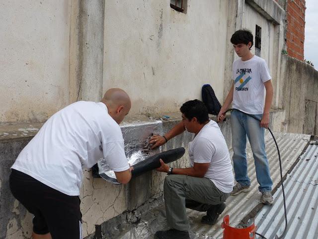Jornada de limpieza en el barrio San Lorenzo de Avellaneda