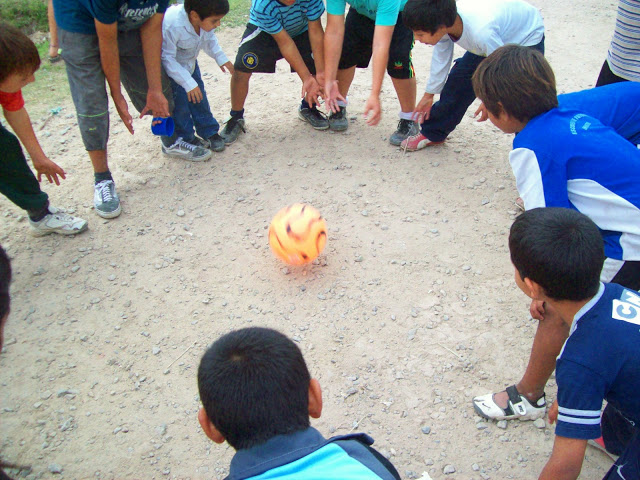 Jornada recreativa en San Carlos, La Plata