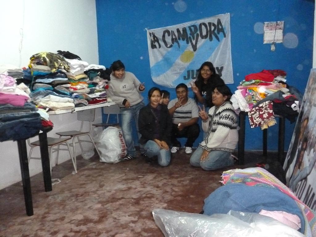 Campaña solidaria en Jujuy