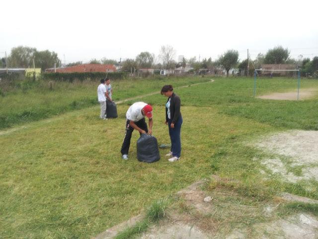 Recuperación de espacio verde en Ezeiza