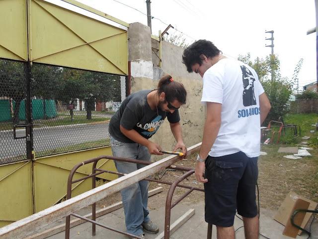 Refacciones en la Escuela EPB Nº2 de Villa Libertador, Ituzaingó