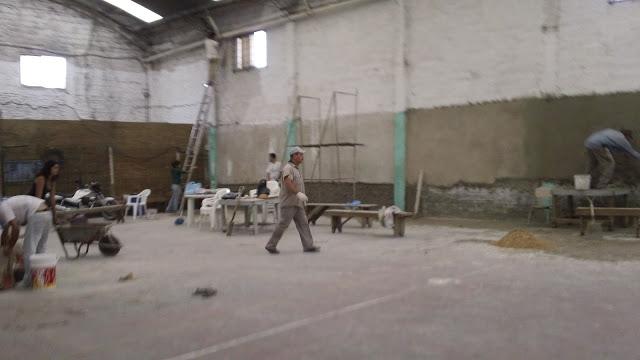 Refacciones en la sociedad de fomento La Loma en Lomas de Zamora