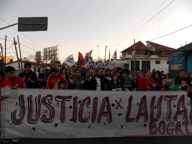 Justicia por Lautaro Bugatto