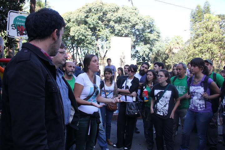 Radio Abierta en defensa del espacio público en el Parque Lezama