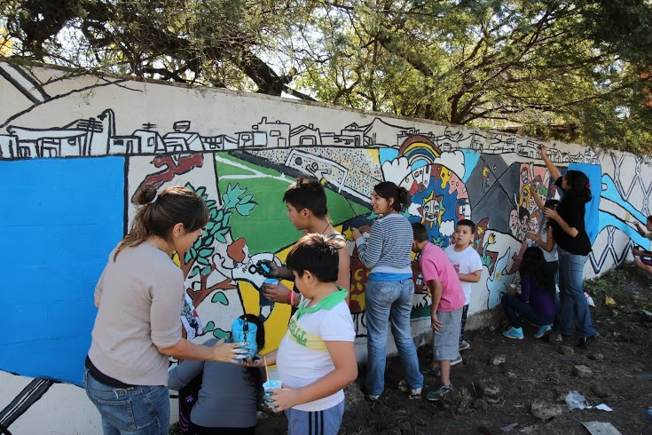 "Jornada Solidaria ""Néstor sigue vivo"" en la Comuna 8"