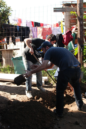 Jornada Solidaria en la Villa Rodrigo Bueno