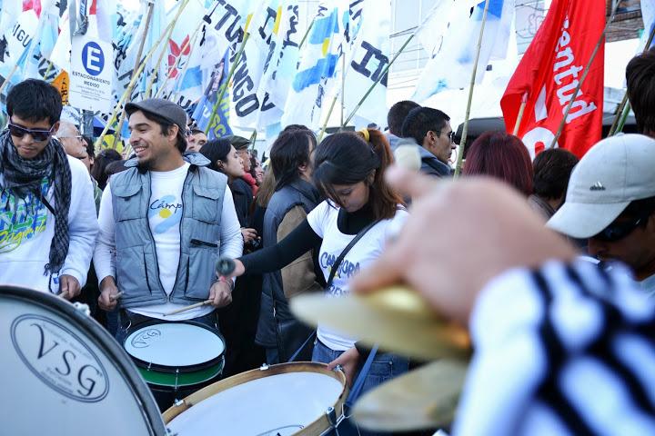 La militancia junto a Cristina en Ituzaingo