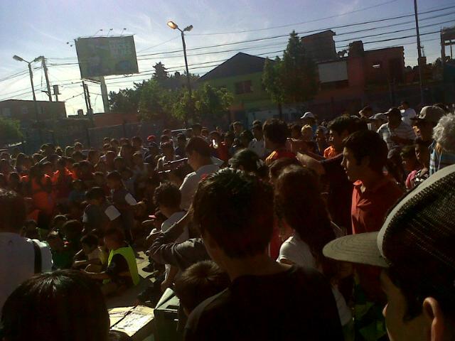 """Torneo """"Padre Carlos Mugica"""" en la Villa 31"""