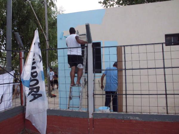 Jornada de militancia en Avellaneda