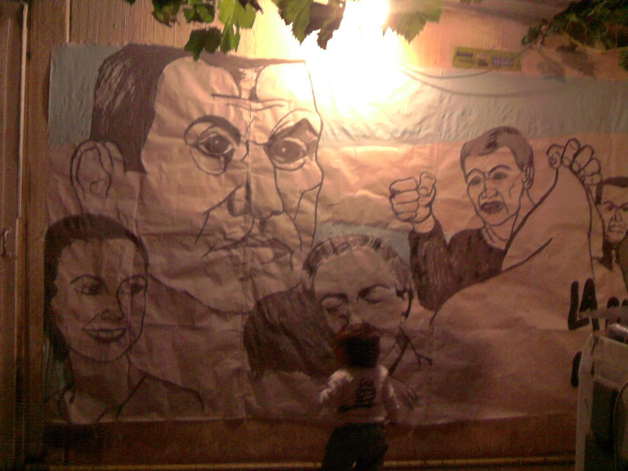 Mural Dia del Trabajador