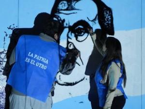 Mural por el día del trabajador