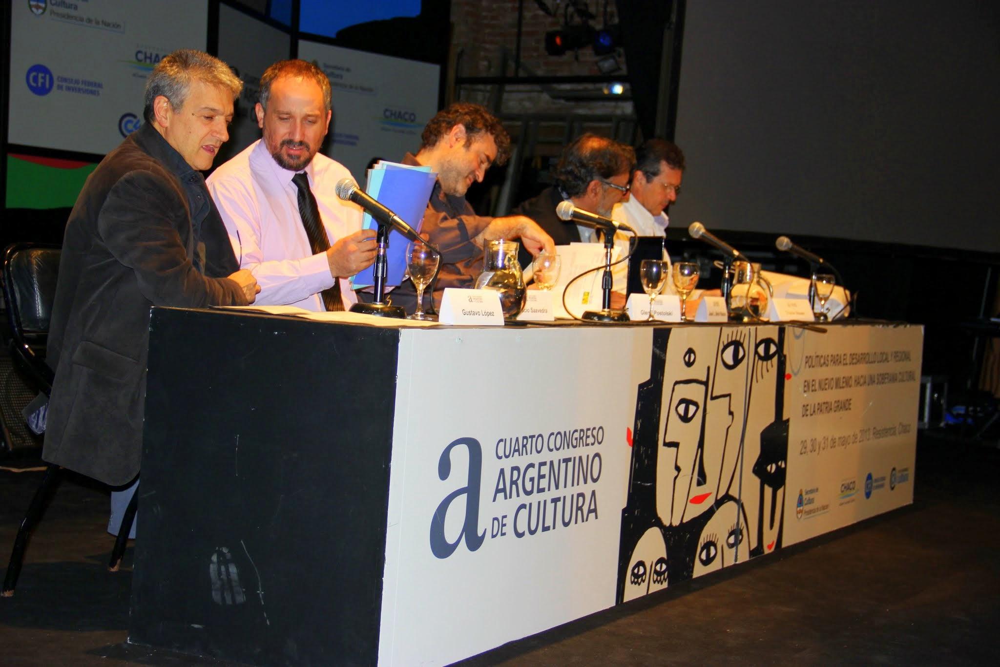 La Cámpora en el IV Congreso de Cultura