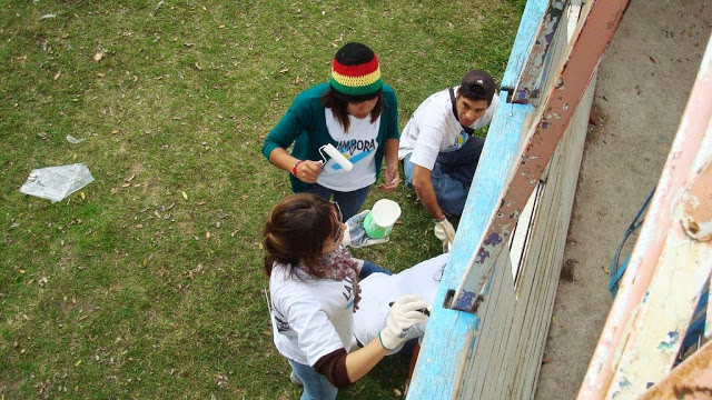 Jornada solidaria en Colon