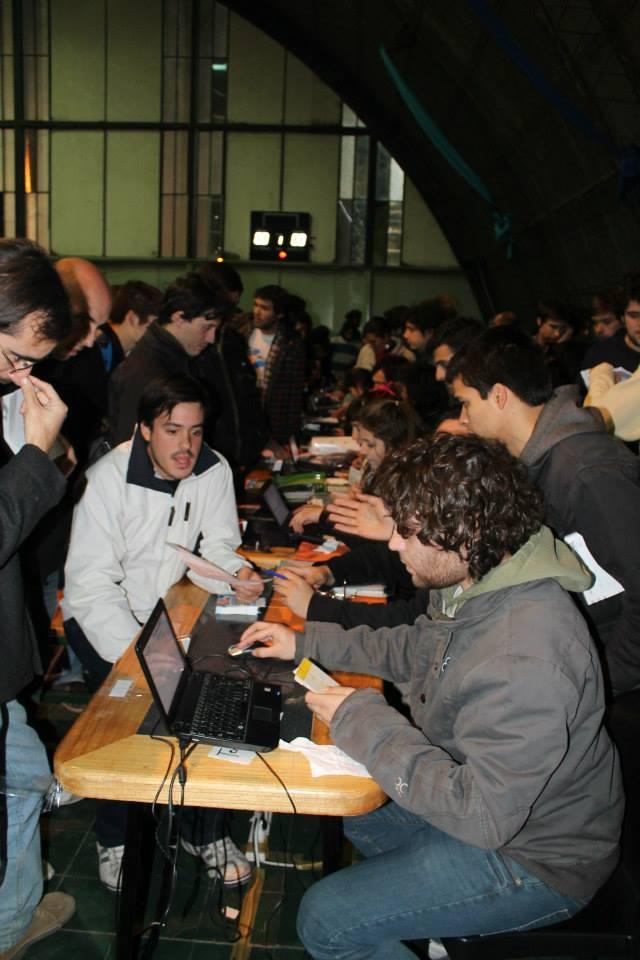Jóvenes de Latinoamérica veedores en Mendoza