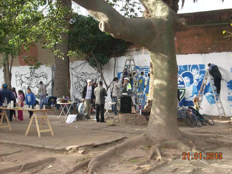 Jornadas solidarias en plaza AVEFA
