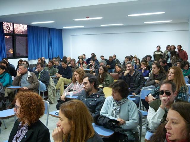 Charla sobre Ciencia y Derechos Humanos en La Plata