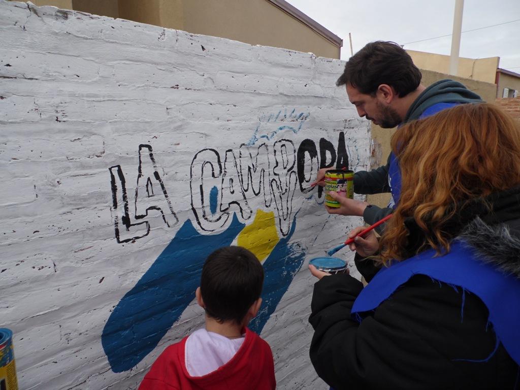 Homenaje a Evita en La Pampa
