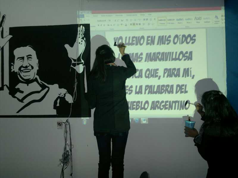 Homenaje a Perón