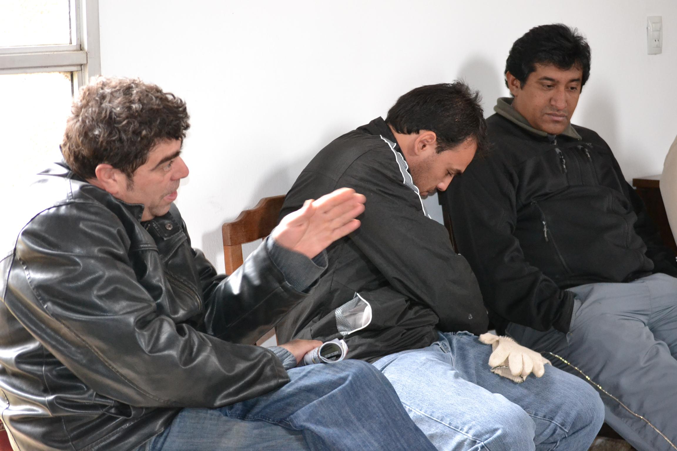 La Campora en Cordoba, junto a los trabajadores